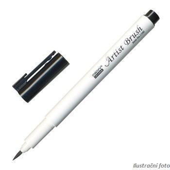 Marvy Artist Brush Popisovač - černá