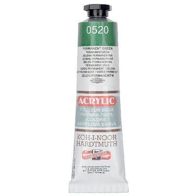 KOH-I-NOOR Akrylová barva Acrylic 40 ml č.0520 - zeleň permanentní