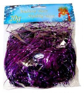 Andělské vlasy 20 g - fialové