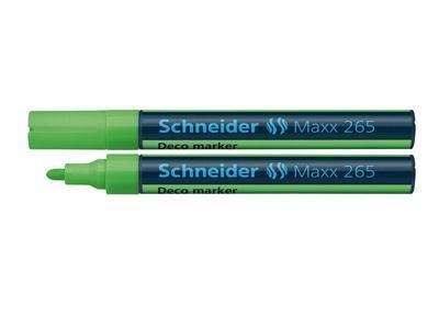 Křídový popisovač Schneider Maxx 265 - zelený - 1