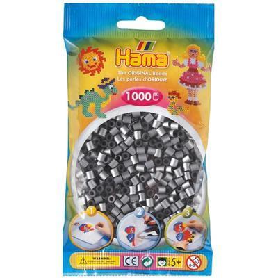 Hama MIDI Zažehlovací korálky 1000 ks - stříbrné