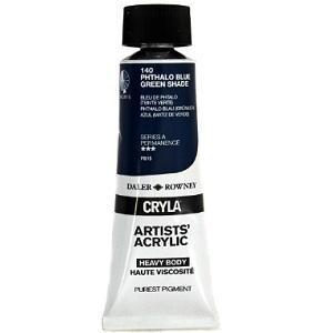 Daler & Rowney Cryla A 75 ml - phthalo blue green shade 140 - 1