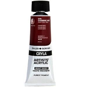 Daler & Rowney Cryla C 75 ml - carmine hue 508 - 1