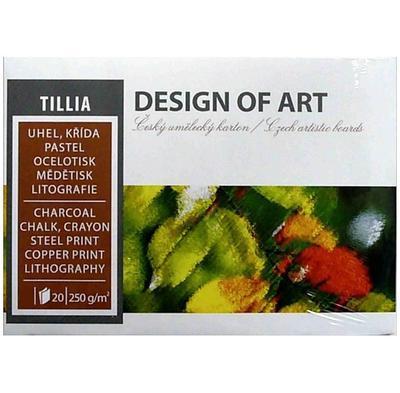 Blok grafický Tillia A5, 250 g/m2, 20 listů - 1