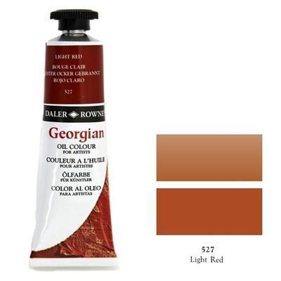 Daler & Rowney Georgian Oil 38ml - Light Red 527, olejová barva - 1