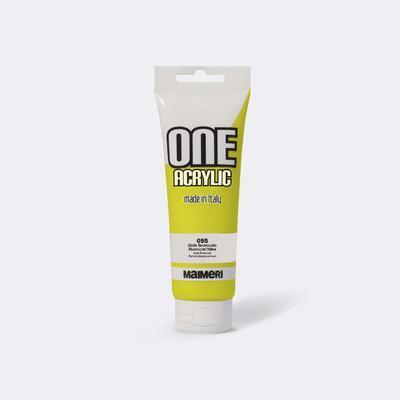 Maimeri Akrylová barva One 120ml - fluorescentní žlutá 095