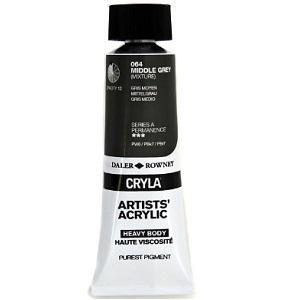Daler & Rowney Cryla A 75 ml - middle grey 064 - 1