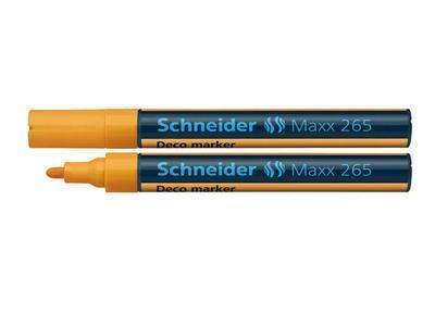 Křídový popisovač Schneider Maxx 265 - oranžový - 1