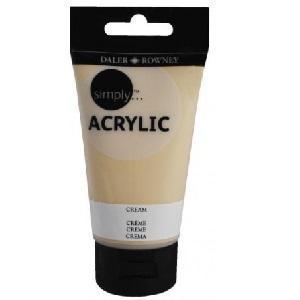 Daler & Rowney Simply Acrylic 75 ml - cream 020 - 1