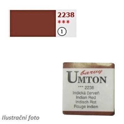 Akvarelová barva 2,6ml - Indická červeň/ 1 - 1