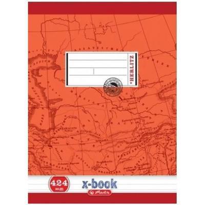 Školní sešit A4 424, bezdřevý linkovaný - 20 listů