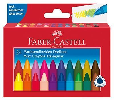 Faber-Castell Voskovky trojhranné - 24 ks