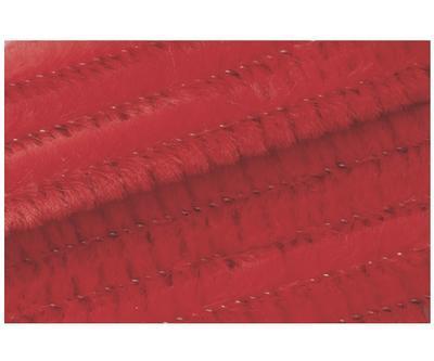 Žinilkový drát průměr 8mm, délka 50cm, 10ks - červený