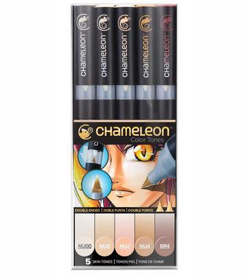 Chameleon Color Tones - 5 ks, pleťové tóny - 1