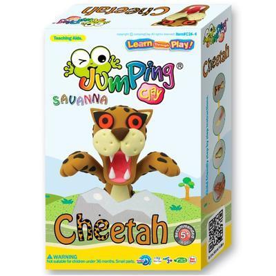 "Modelovací hmota Jumping Clay - Savana ""Gepard"" - 1"