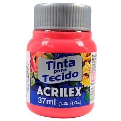 Acrilex Barva na textil 37ml - korálová 586 - 1
