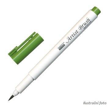 Marvy Artist Brush Popisovač  - olivově zelená