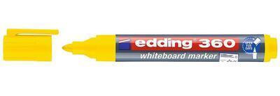 Popisovač Edding 360 Flipchart - žlutý