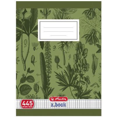 Školní sešit A4 445, bezdřevý čtverečkovaný - 40 listů