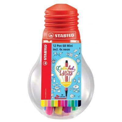 Stabilo Pen 68 Mini Colorful Ideas - 12ks - 1