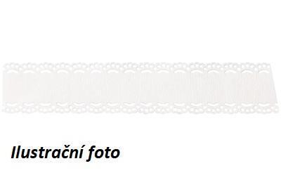 Samolepící krajka délka 2m, šířka 21mm - bílá