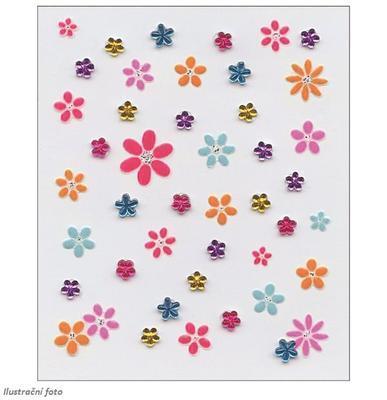 Susy Card samolepky holky kytičky - 1