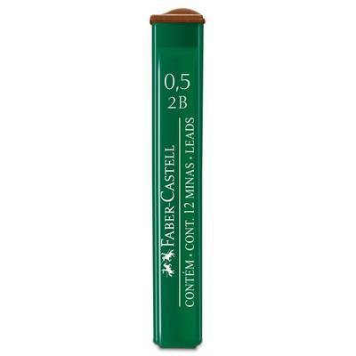 Faber-Castell Mikrotuhy  grafitové - 0,5 mm, 2B,    12 ks