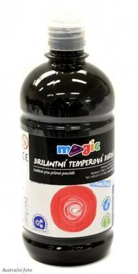 Temperová barva Magic 500 ml - černá