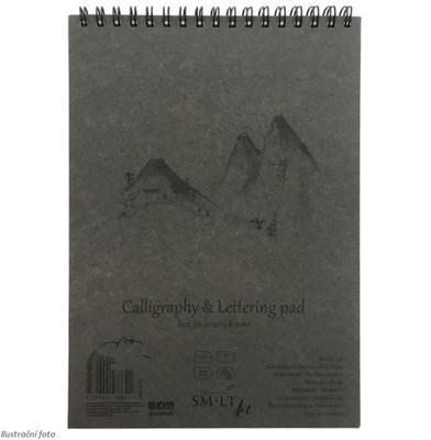 SMLT Blok kaligrafický A5, 100 g/m2, 50 listů