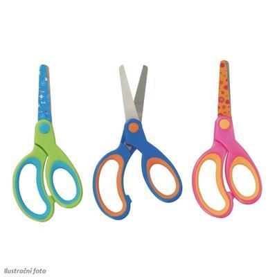 Nůžky dětské s kulatou špičkou