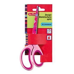 Herlitz  Špičaté nůžky pro leváky dětské barevné