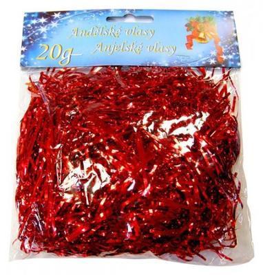 Andělské vlasy 20 g - červené