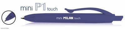 Kuličkové pero MILAN Mini P1 Touch - modré