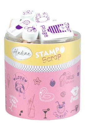 StampoScrap - Moje léto - 1