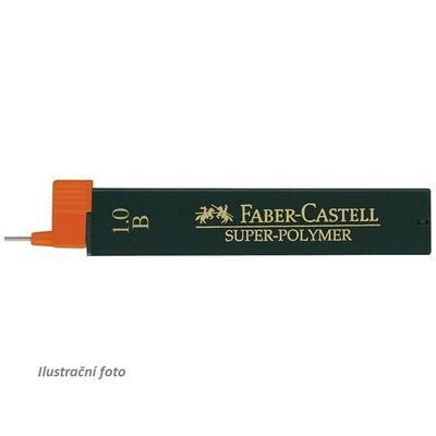 Faber-Castell Grafitové Tuhy SUPER POLYMER do mikrotužky - 1,0 mm, B