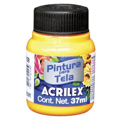 Acrilex Barva na textil 37ml - fluorescenční oranžová108 - 1