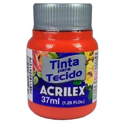 Acrilex Barva na textil 37ml - ohnivá červená 507 - 1