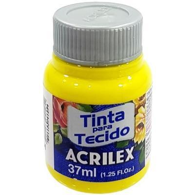 Acrilex Barva na textil 37ml - citronově žlutá 504 - 1