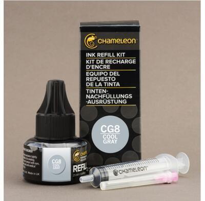 Chameleon náplň 25 ml - Cool Gray - CG8