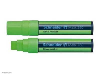 Křídový popisovač Schneider Maxx 260 - zelený - 1