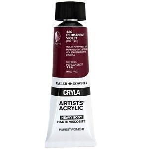 Daler & Rowney Cryla C 75 ml - permanent violet 430 - 1