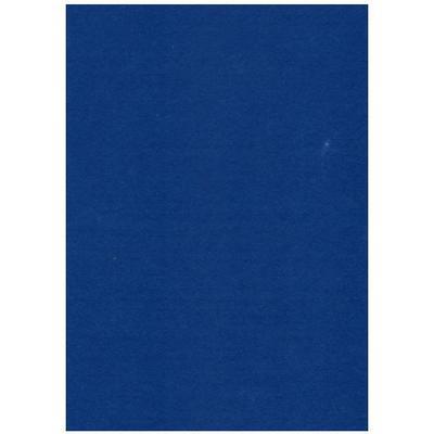 Filc 23 x 30 cm - modrý tmavý