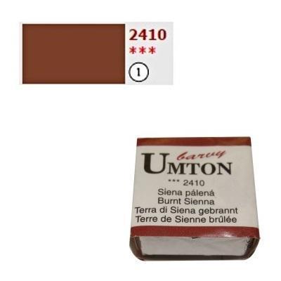 Akvarelová barva 2,6ml - Siena pálená - 1