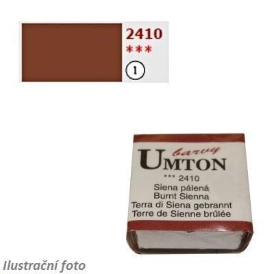 Akvarelová barva 2,6ml - Siena pálená/ 1 - 1