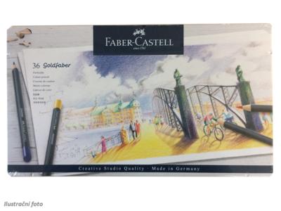 Faber-Castell Pastelky Goldfaber - 36 ks v plechu - 1