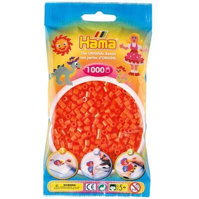 Hama MIDI Zažehlovací korálky 1000 ks - oranžové