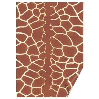 Fotokarton 50x70 cm, 300 g/m2 - žirafa