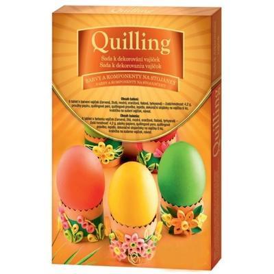 Quilling Sada k dekorování vajíček - 1