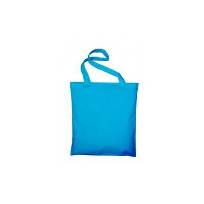 Taška bavlněná 38x42 cm - světle modrá
