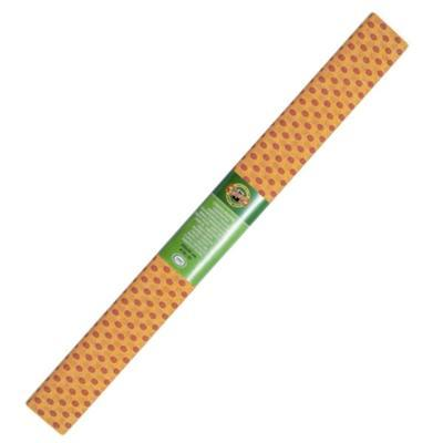Koh-i-noor Krepový papír 9755/52 - tečkovaný oranžovo červený